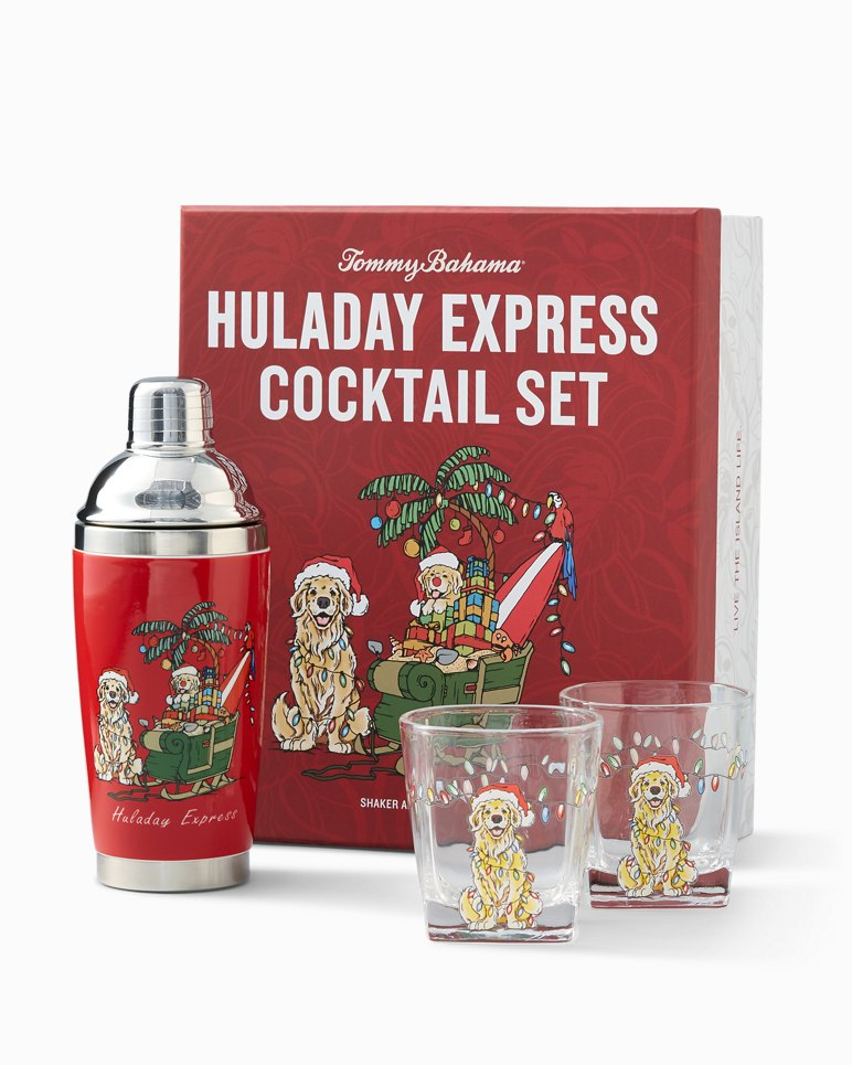 Main Image for Huladay Express Shaker & Double Old Fashioned Glass Set