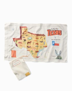 Vintage Tea Towel - Texas