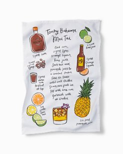 Tommy Bahama Mai Tai Bar Towel