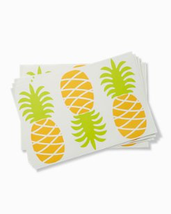 Pineapple Paper Placemat Pads