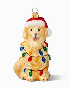 Huladay Dog Ornament
