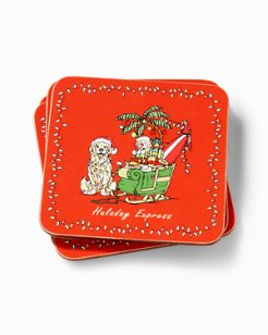 Huladay Express Coasters - Set of 4