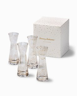 Holiday Mini Carafe Glasses - Set of 4
