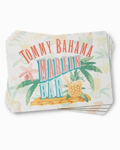Marlin Bar Placemats - Set of 4