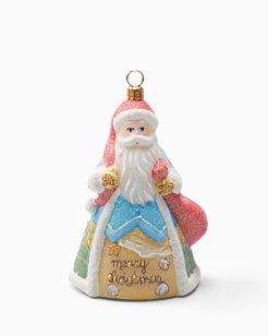 Snowman Santa Ornament