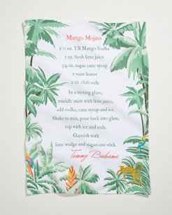 Mango Mojito Recipe Bar Towel