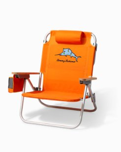 Hula Marlin Deluxe Backpack Beach Chair