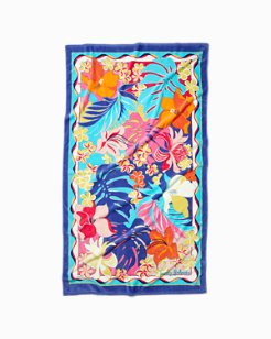 Floral Daze Beach Towel