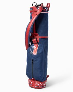 Palms & Stars Canvas Vintage Golf Bag