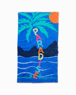 Paradise Ahoy Beach Towel