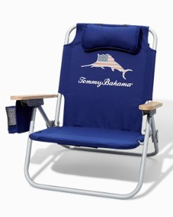 Marlin Americana Backpack Beach Chair