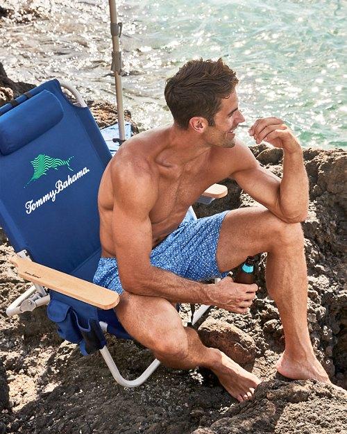 Wavy Marlin Deluxe Backpack Beach Chair