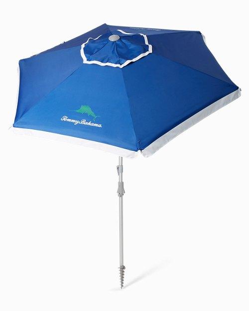 Wavy Marlin Beach Umbrella