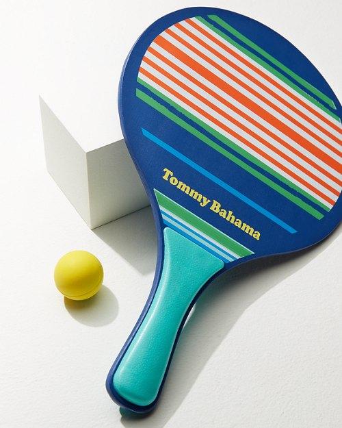 Nautical Stripe Paddleball Set