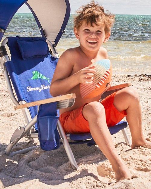 Kids Wavy Marlin Backpack Beach Chair