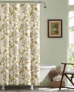 Nador Medium Beige Shower Curtain