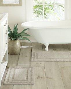 Grey Isla Bath Rug Set of 2