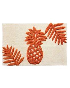 Batik Pineapple Bath Rug