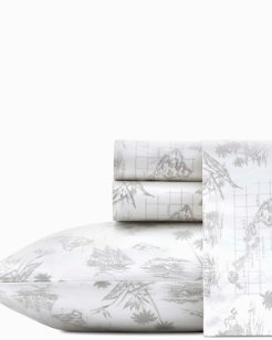 Vintage Map Sheet Set, California King