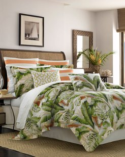 Palmiers Queen Comforter Set