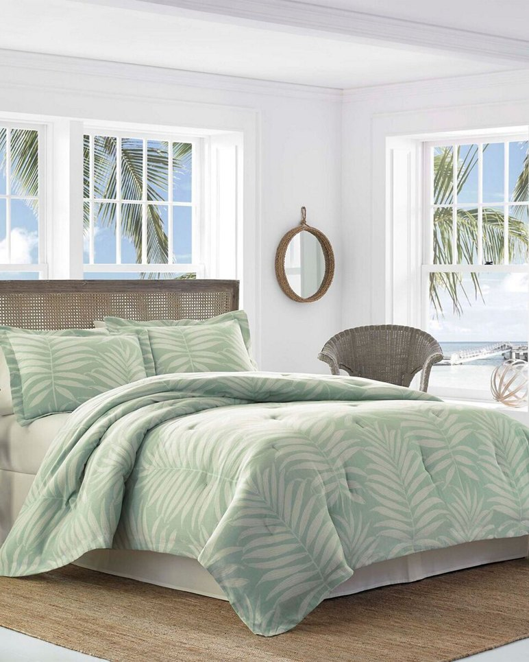 Main Image for Abacos Blue Comforter Set, Queen
