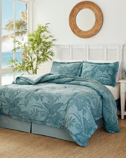 Blue Abalone King Comforter Set