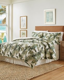 Fiesta Palms Queen Comforter Set