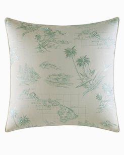 Abacos Decor Pillow, 20X20