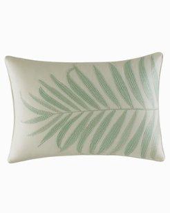 Abacos Turquoise-Aqua Decorative Pillow, 14X20