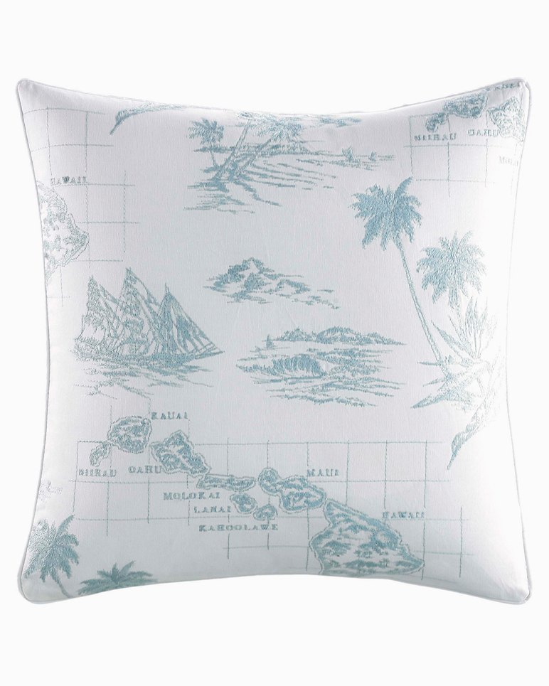 Main Image for Sailaway Blue Square Pillow