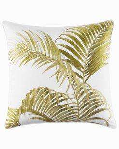 Breezeway Palm Throw Pillow