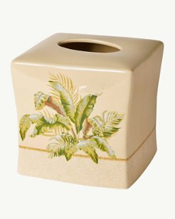 Palmiers Tissue Box