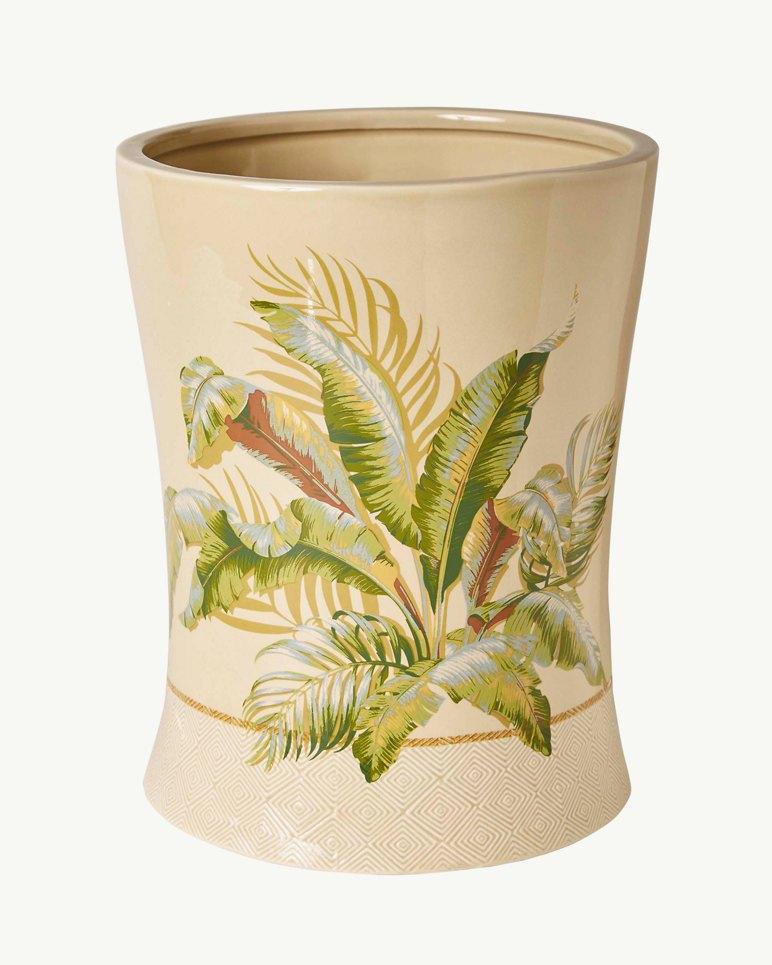 Main Image for Palmiers Stoneware Wastebasket