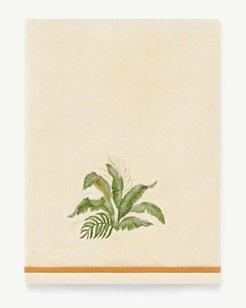 Palmiers Natural Bath Towel