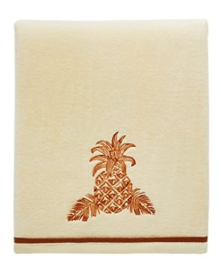 Batik Pineapple Bath Towel