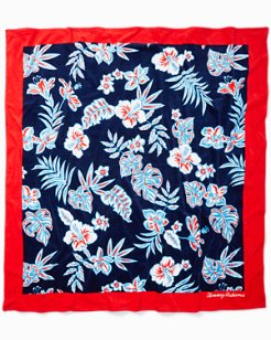 Hibiscus Beach Blanket