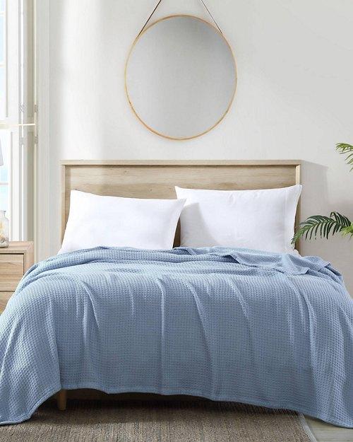 Bahama Coast Coastal Blue King Blanket