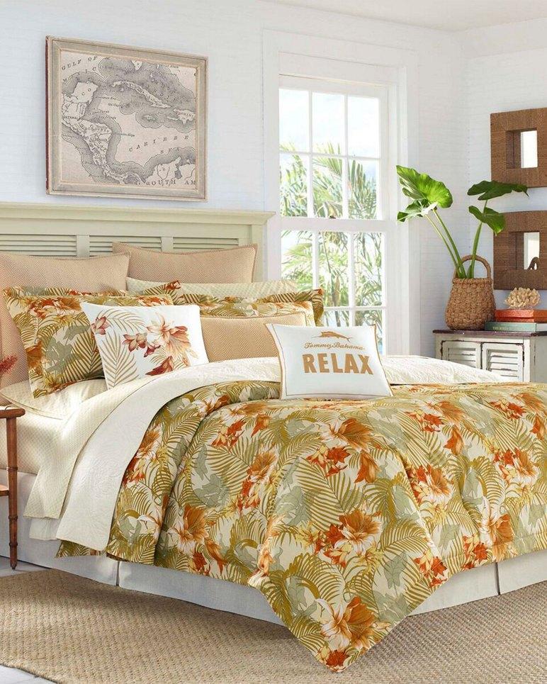 Main Image for Loredo Gardens Medium Orange Duvet Cover Set, King