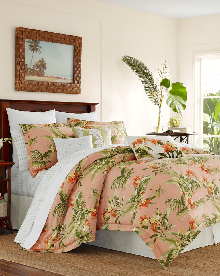 Main Image for Siesta Key Cantaloupe Duvet Set, King