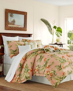 Siesta Key Cantaloupe Duvet Set, King
