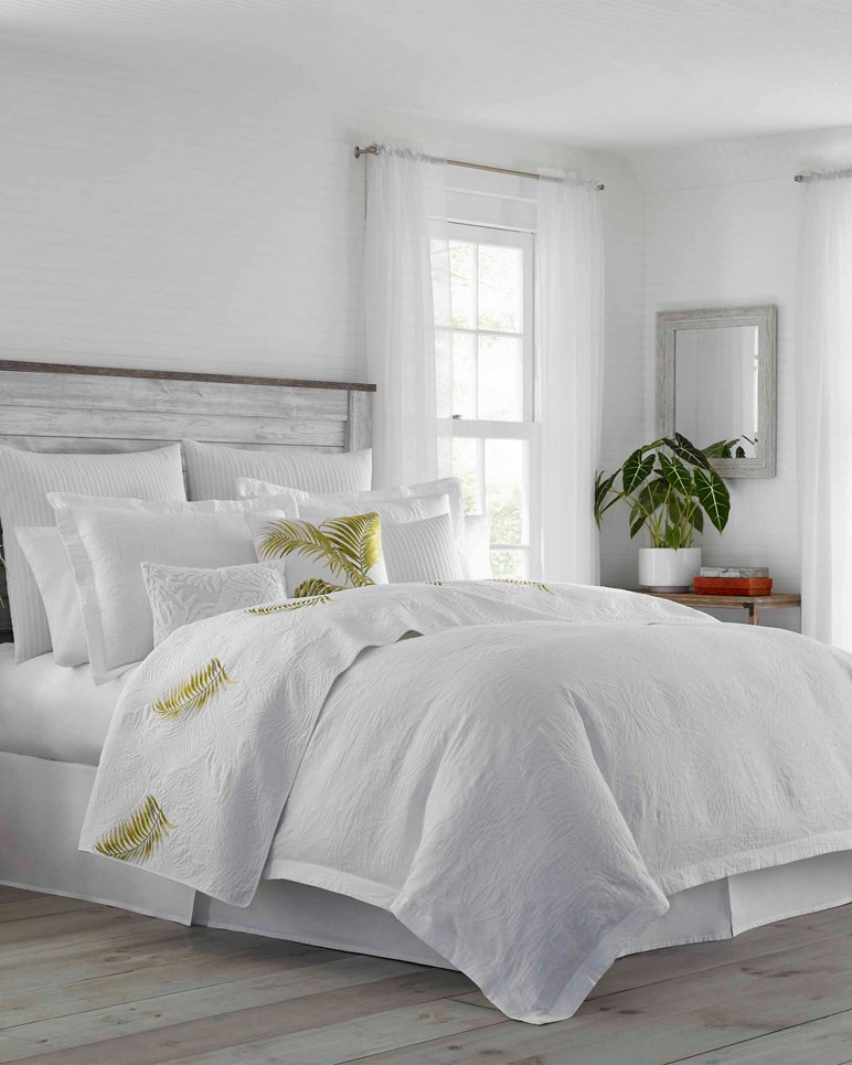 Main Image for St. Armands White Coconut Duvet Set, Full/Queen