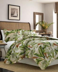 Palmiers Full/Queen Duvet Cover Set