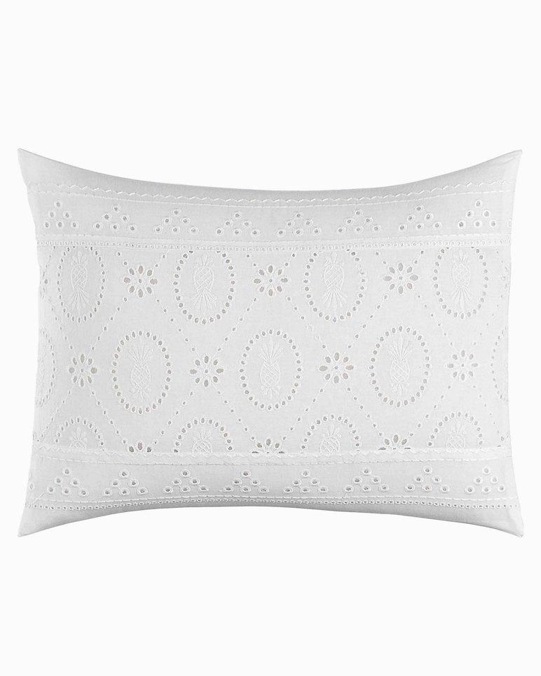 Main Image for Siesta Key White Eyelet Breakfast Pillow