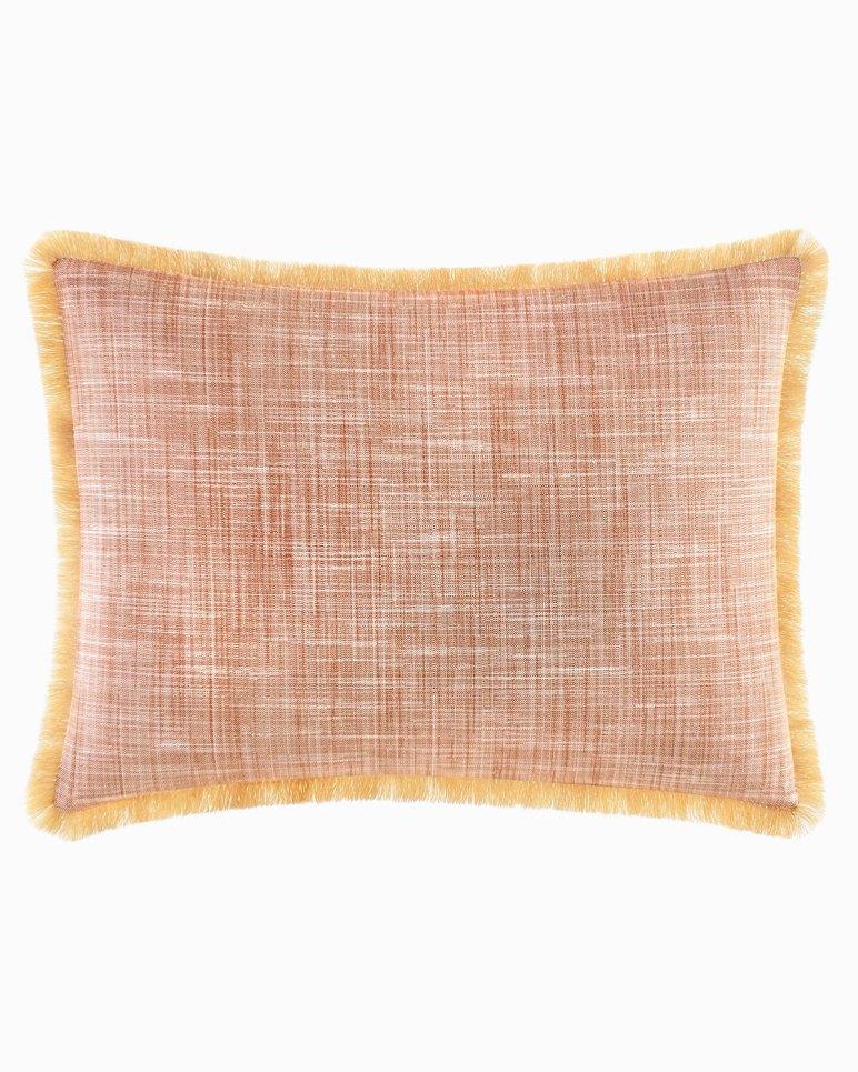 Main Image for Sunrise Stripe Burnt Coral Breakfast Pillow