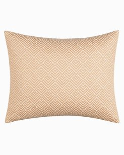 Sunrise Stripe Sand Breakfast Pillow