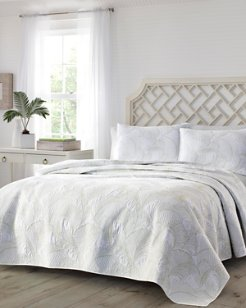 Paradise Fronds King Quilt