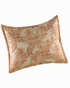 Batik Pineapple Raw Sienna King Sham