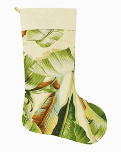 Palmiers Holiday Stocking