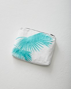 Fan Palms Small Pouch