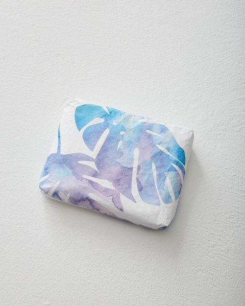 Monstera Small Pouch